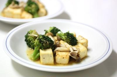 夏向き お豆腐炒め
