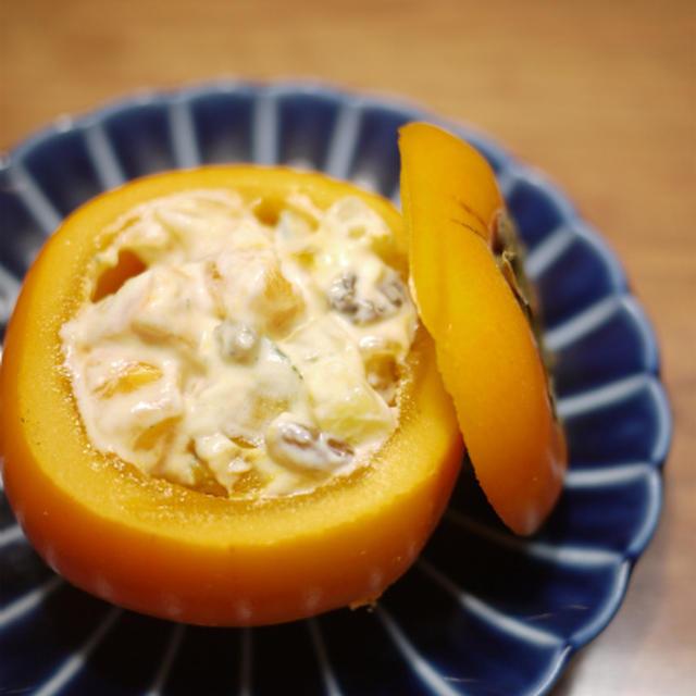 秋の味覚☆ ヨーグルトサラダ