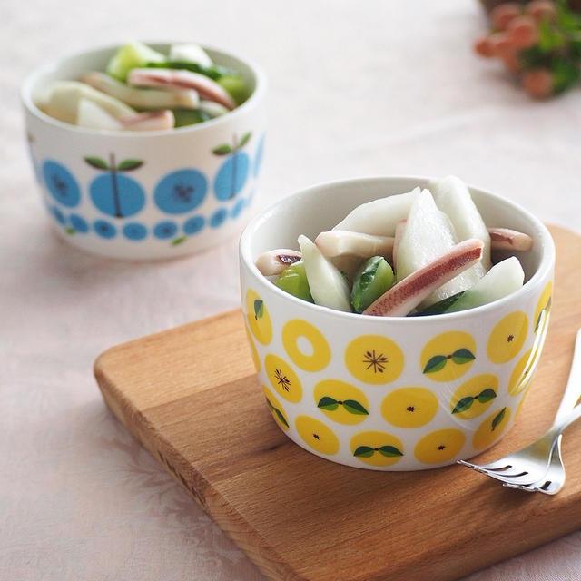 かぶレシピ4種♪子供も食べ易い生野菜