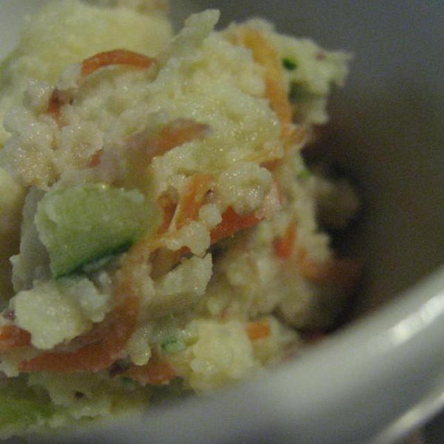 マヨなしで作る豆乳ポテサラ&ハル、チチを追い出す