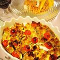 10分で準備完了☆鱈と野菜のパン粉焼き