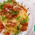[暑い季節に欠かせない常備マリネ] 〜トマトのバルサミコマリネとアレンジ冷製パスタ〜