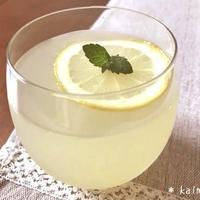 【手作り】清涼感いっぱい♪蜂蜜レモンゼリー*レモンの蜂蜜漬け【アガー使用】