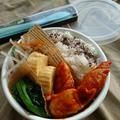 〜簡単はやうまささみのヤンニョムチキン(作りおき)〜にばんのお弁当
