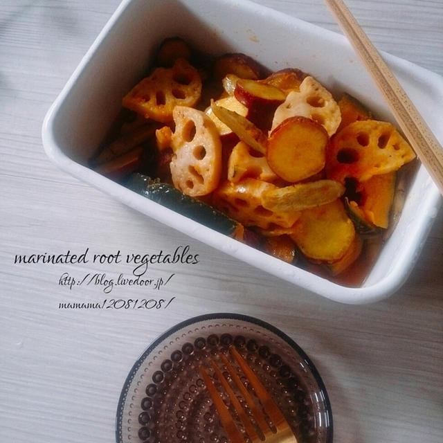 根菜のマリネ