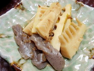 たけのこ&こんにゃくの京風煮物(レシピ付)
