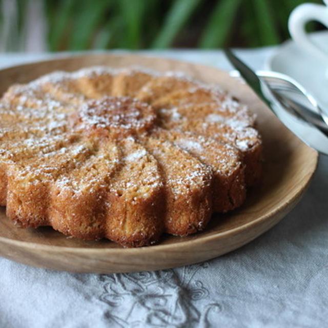 愛するアーモンドケーキ