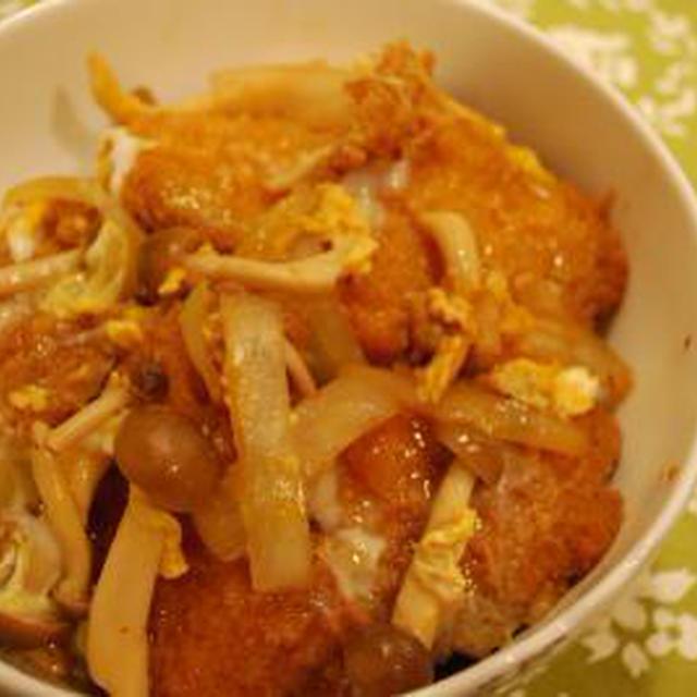 *カツ煮丼*