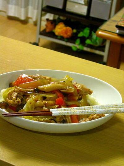 【節約レシピ】冷蔵庫の余り野菜で、あんかけうどんです!