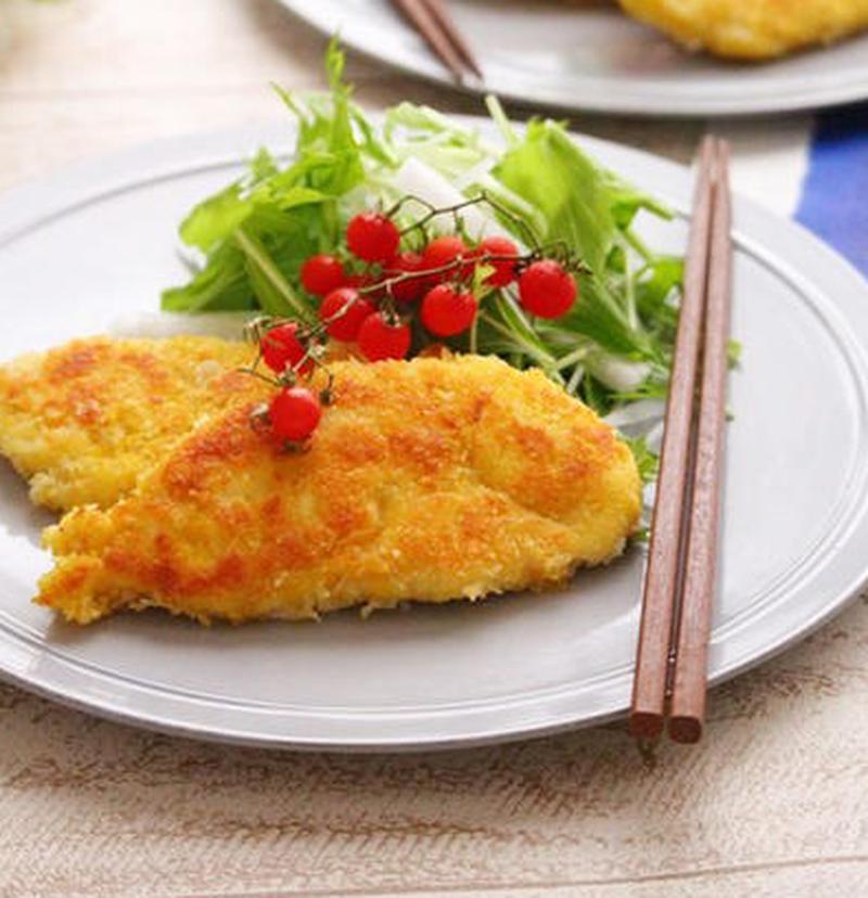 安いお肉がメインに変身!「ささみのパン粉焼き」おすすめレシピ