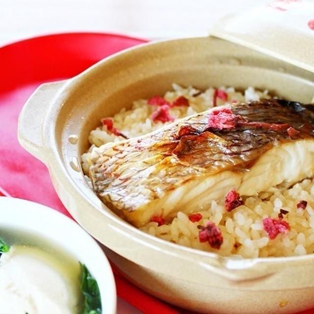 【姫ごはん☆美脚レシピ】かんたん!白だしで作る 土鍋鯛めしの作り方☆