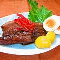 豚バラの豆鼓煮 煮たまご添え ~ ホロリとほどけるほど柔らかく✩ by mayumiたんさん