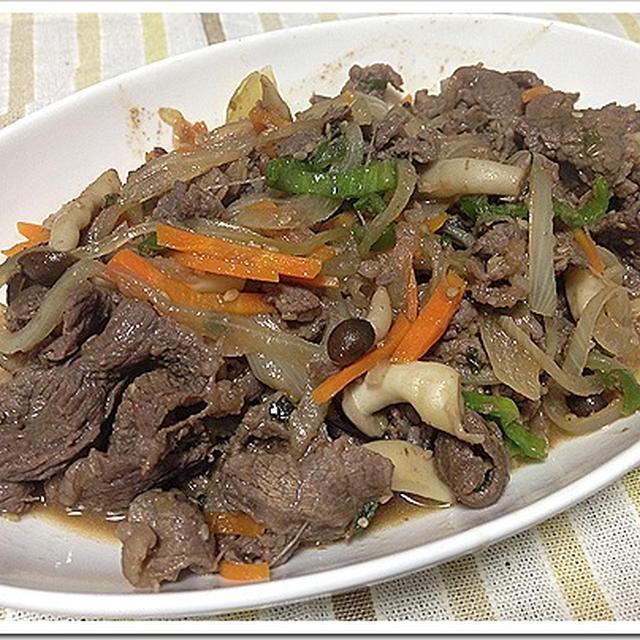 コストコのプルコギビーフで野菜炒め!簡単レシピ!味付け不要