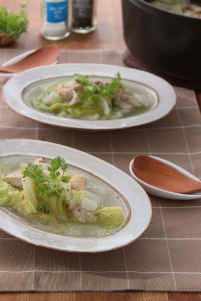 【連載】「水で変わる、毎日の料理」にてレシピがアップされました!