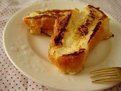 カルピス味のフレンチトースト・プチッと鍋で節約スープ
