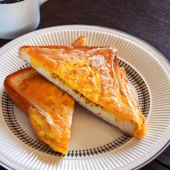 グッドモーニングメタルトースト!「オムトースト」