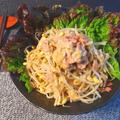 もっちりサラダ感。ツナマヨ柚子胡椒の速攻豆もやし(糖質2.5g)