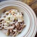 包丁いらずで簡単!【減塩】豚肉と白菜のミルク煮