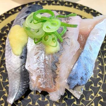 はま寿司で親子でお寿司♡