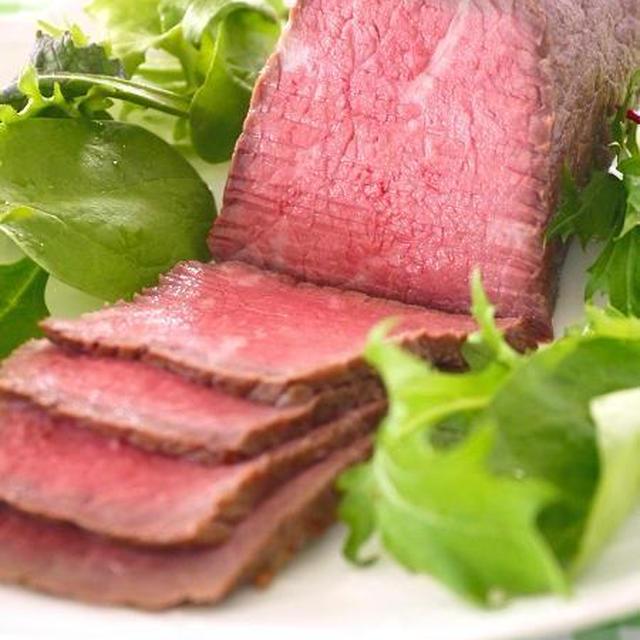 炊飯器で作る簡単ローストビーフ♪マイナビニュースにてレシピ好評連載中!