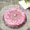 ケーキ型で作る♪桜の花の水羊羹