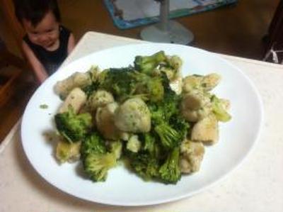 疲労回復レシピ 鶏胸肉とブロッコリーの塩ダレ炒め
