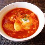 トマトビーンズスープ