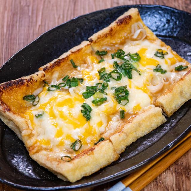 カリッとトロ〜リと「薄揚げの味噌チーズ焼き」&懐かしの味を思い出す「尾道ラーメン」