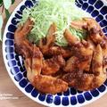 【レシピ】鶏手羽先の生姜焼き 平日に鮑のある食卓の話付き★