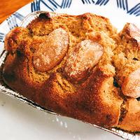 甘納豆入り米ぬかケーキ
