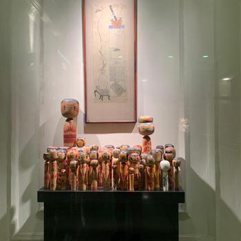 上野アトレのこけし展覧会