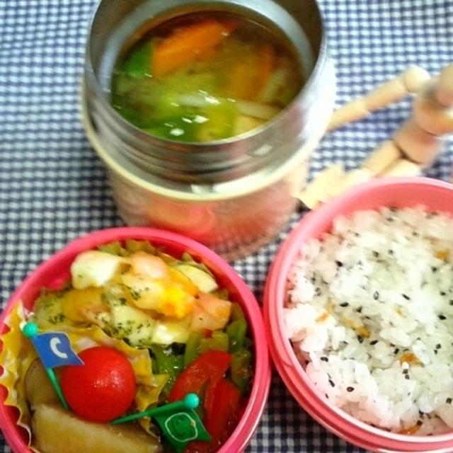 つみれスープ&ミニグラタン弁当