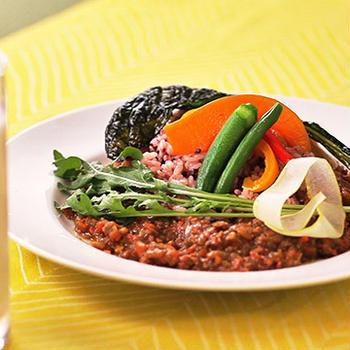お野菜たっぷり!ひき肉カレープレート