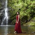 SK-IIのアンバサダーで人気女優の有村架純さん大自然への挑戦♪沖縄の亜熱帯雨林トレッキング
