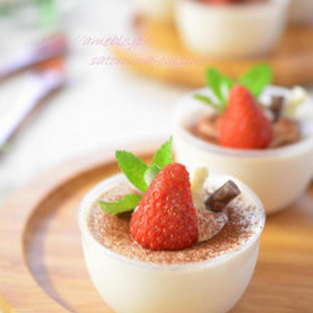 アーモンドミルク珈琲のふんわりムース♡【suipa店モニター】