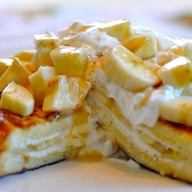 トリプルバナナのフレンチトースト