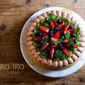 フルーツたっぷりのチョコデコレーションケーキと、今日のレシピ