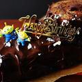 コーヒー風味のチョコレートロールケーキ。 by あいらさん