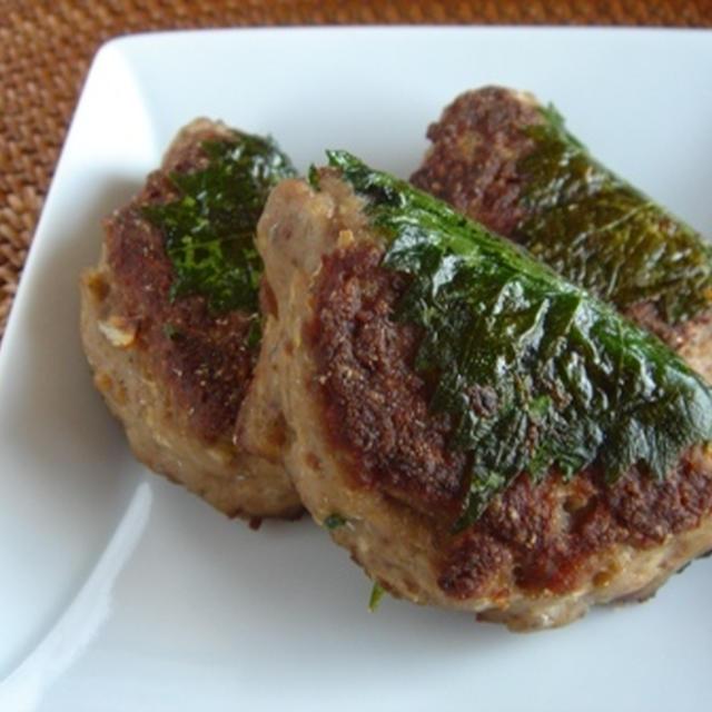 秋の行楽弁当に!秋刀魚ハンバーグ。