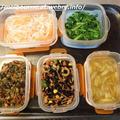 週末しごと『作り置き常備菜』★お弁当は うどの炊き込みご飯