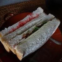 明治北海道十勝贅沢スライスチーズdeサンドイッチランチ