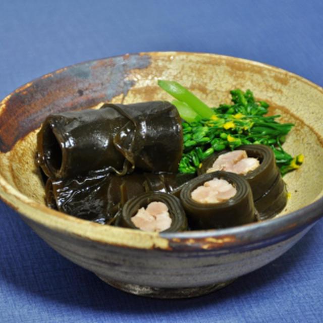 塩麹漬け豚ばら肉の昆布巻き & 船長の小部屋