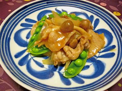 豚肉の生姜味噌だれ焼き