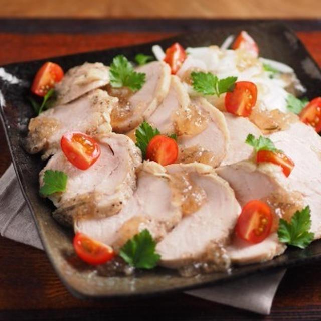 炊飯器で作る、鶏むね肉の鶏ハム風
