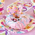 ドーナツケーキ🍩3歳の女の子の誕生日ケーキ (動画レシピ) by オチケロンさん