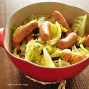 ≪連載更新!≫春キャベツとウインナーの蒸し煮と、天橋立へ蟹を食べに行くツアー