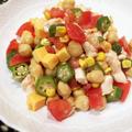 セボリー香るヒヨコ豆サラダ
