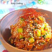 箸休めやおつまみに最高!「納豆×きゅうり」の副菜レシピ