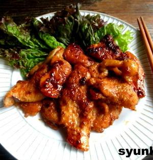 【簡単!!】おすすめです。鶏胸焼き肉