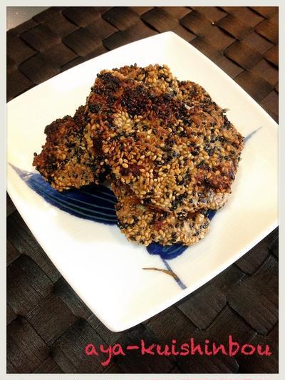 豚ヒレ肉の胡麻味噌焼きでお弁当